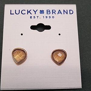 Lucky brand teardrop studs